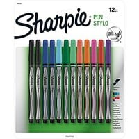 Sharpie® Pens, Fine Point, Assorted Colors, 12/pk (1802226) | Staples