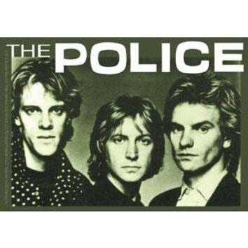 The Police Vinyl Sticker Band Photo Logo