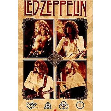 LED ZEPPELIN POSTER Amazing Collage RARE HOT NEW 24x36
