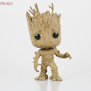 Tree Man Guardians of the Galaxy Anime Movie Collection Action Figure Toys