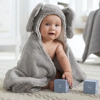 Nursery Fur Critter Bath Wraps | Pottery Barn Kids