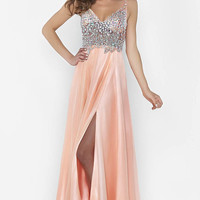 Kari Chang YL1449 Prom Dress Sheer Top