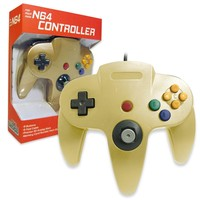 Old Skool Nintendo 64 Controller in Gold