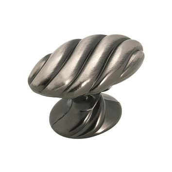 Amerock Expressions Traditional Pewter Square Cabinet Knob