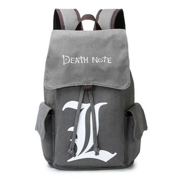 Anime Backpack School Attack on Titan Backpack Schoolbag for Students kawaii cute Game Canvas Book Bag AT_60_4