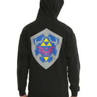 Nintendo The Legend Of Zelda Triforce Zip Hoodie