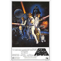 Star Wars - Domestic Poster