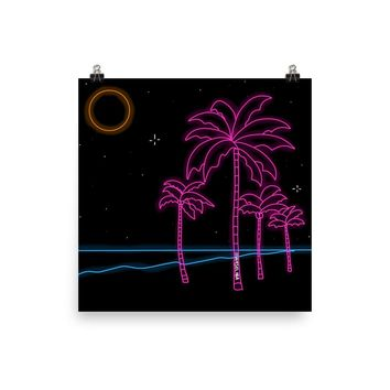 Walks on the Beach Print