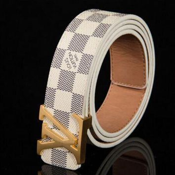 DCCKHI2 LOUIS VUITTON MEN'S WOMEN'S LEATHER BELTS M9807 Tagre-