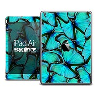 The Turquoise Butterfly Bundle Skin for the iPad Air