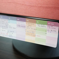 Sticky Note [ 4 Types ] / Weekly Scheduler / Dot / Check / 10568409
