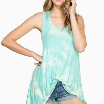 ShopSosie Style : Coastal Bliss Tank Top in Mint