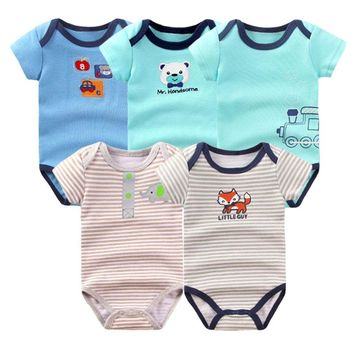 Baby Rompers Clothes 2017 Summer Newborn Boy Girl Clothing Pure Cotton Baby Onesuit Next Body Baby Jumpsuit Costume BG-10