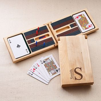 Cribbage Game ~ Monogrammed