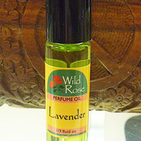 Wild Rose Lavender Roll On Perfume Oil 1/3 oz. hippie perfume fragrance