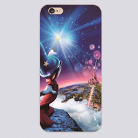 Disney Castle Fireworks Design Transparent Phone Cases for Apple iphone 4 4s 5 5c 5s 6 6s plus