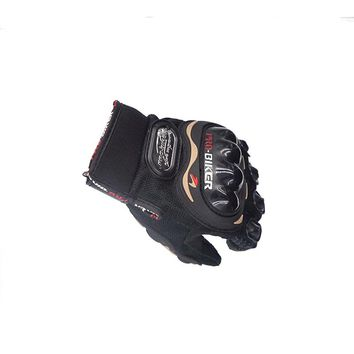 Pro Professional Fashion Biker Motorcycle Gloves Full Finger Men Moto Sports Motorbike Motocross Protective Gear Racing Glove