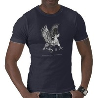Whitehead Griffin black T-shirts from Zazzle.com