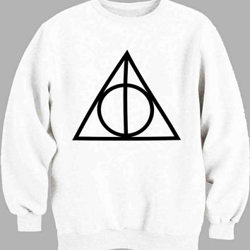 deathly hallows pocket logo Sweater for Mens Sweater and Womens Sweater *