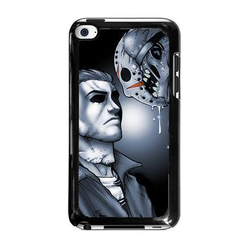MICHAEL MYERS VS JASON iPod Touch 4 Case Cover