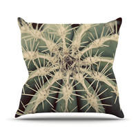 "Angie Turner ""Cactus"" Plant Throw Pillow"