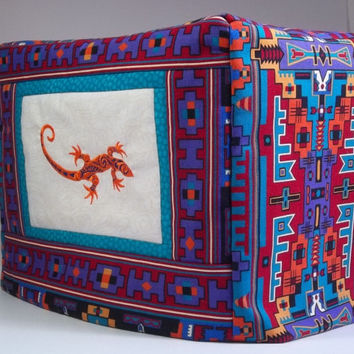 Toaster Cover - Southwestern Lizard 2- slice toaster