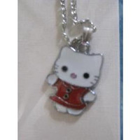 red Hello Kitty necklace