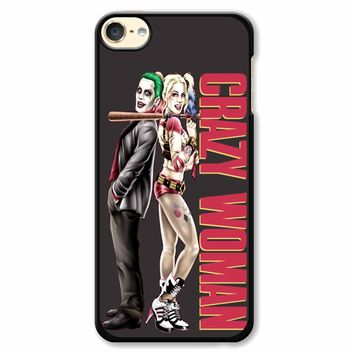Harley Quinn Crazy Woman iPod Touch 6 Case