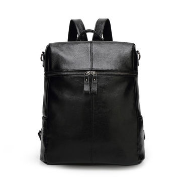 On Sale College Comfort Back To School Hot Deal Casual Stylish Leather Korean Pc Backpack [6581507783]