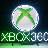Xbox 360 Game Room Neon Sign