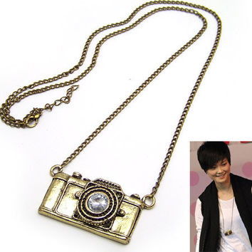 Antique Camera Necklace