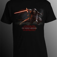Star Wars T-Shirt Star Wars The Force Awakens T-Shirt Men's Kylo Ren T-Shirt