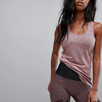 adidas Training Jacquard Tank In Pink at asos.com