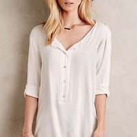 Kay Buttondown Tunic by Velvet by Graham and Spencer White