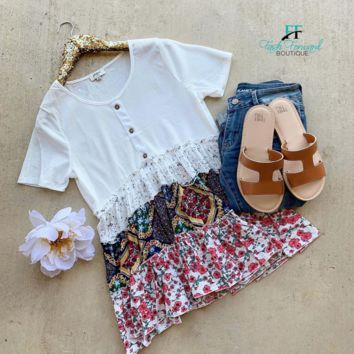 Layers of Love White Top