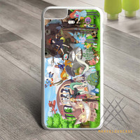 Studio Ghibli Characters Custom case for iPhone, iPod and iPad