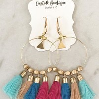 Liberate Tassel Earrings