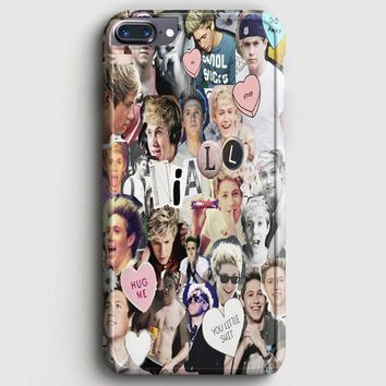 Niall Horan Heart Tshirt White iPhone 7 Plus Case
