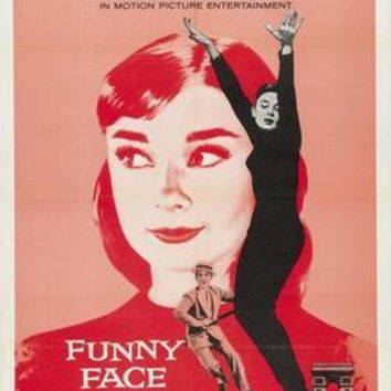 Funny Face Movie Poster Audrey Hepburn 24in x36 in