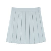 MXM14FWPleated pants skirt (sky blue)good bye see you 15 s/s | MIXXMIX