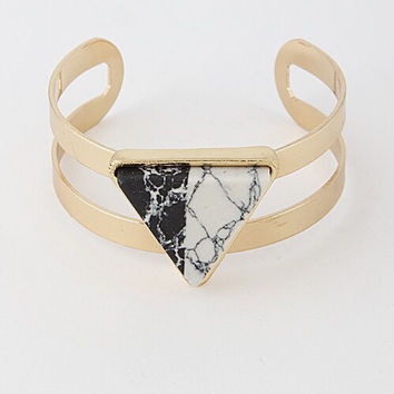 Marble Cuff (Gold)