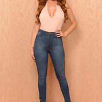 Mingle Bodysuit - Pink