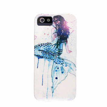 Mermaid Girl iPhone Case