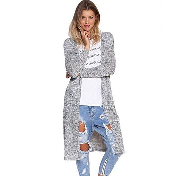 Cardigan women sweater Long Cardigan oversized knitting sweater women womens sweaters fashion 2017 autumn winter Poncho Women