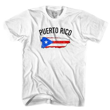 Puerto Rico Flag & Country T-shirt