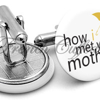 How Met Your Mother Cufflinks