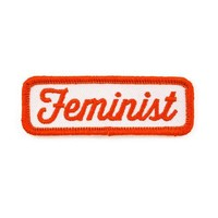 Feminist Patch - Red