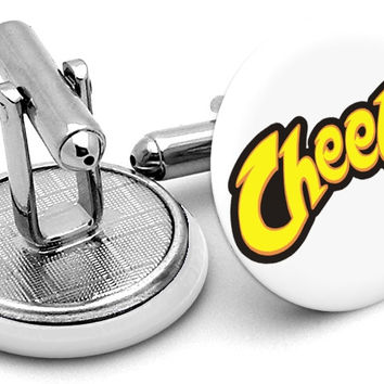 Cheetos Logo Cufflinks