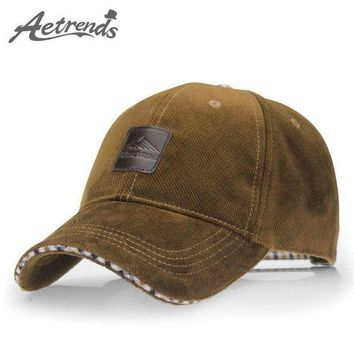PEAPON [AETRENDS] 2017 New Spring Hats for Men Baseball Cap Fashion casquette polo 4 Colors f