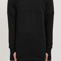 SW035 Stealth Tech Sweater - Black